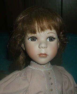 20-in Show-Stoppers porcelain doll by J.C. Lee, original clothes NO BOX, NO COA