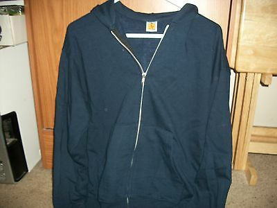 *NEW* A+ by SAI Uniform Zip-Up Hoodie Size YXL Navy Blue