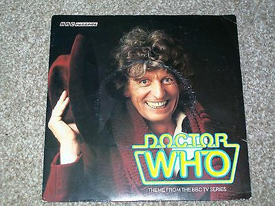 Peter Howell And The BBC Radiophonic Workshop ‎– Doctor Who UK EP VG++