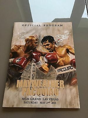 Mayweather V Pacquiao Official Fight Programme