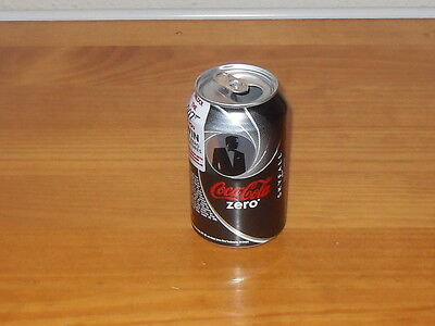 James Bond Skyfall Empty Coca Cola Zero 330ml