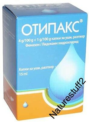 OTIPAX ear drops - Pain Relief ,Inflammation Relief  ,Earwax 15ml