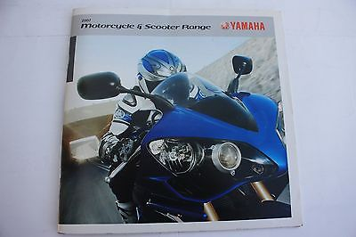 Yamaha Motorcycle & Scooter Range 2007 Sales Brochure