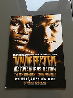 Hatton V Mayweather Official Fight Programme