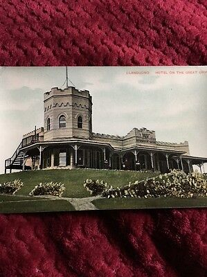 Hotel On The Great Orme, Llandudno, Wales, Postcard,