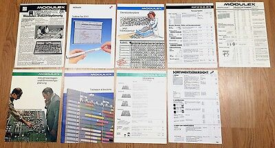 Original Modulex Pamphlets Advertisements and Pricelists! NOT REPRODUCTIONS!