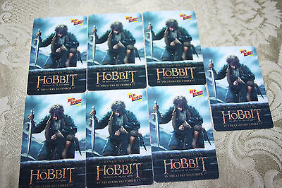 THE HOBBIT - The Battle Of The Five Armies - Red Robin GIFT CARD [No Value]
