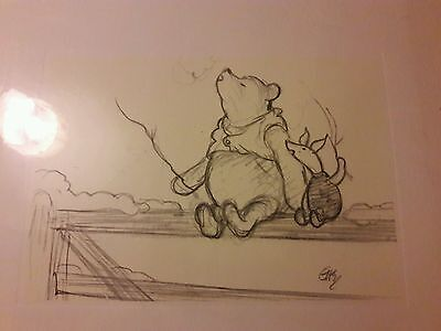 Disney Winnie the pooh print picture  in wrap. ...but it's no good going home