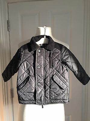 NEXT BOYS PADDED QUILTED COUNTRYSTYLE JACKET COAT AGE 12-18 Months