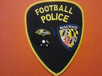 Collectible Maryland Police Patch Ravens Football New