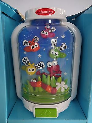Infantino FIREFLY CRIB SOOTHER Lights & Sounds - New without Box