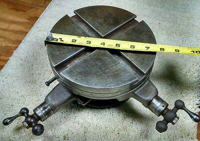 """7-1/2"""" Vintage Rotary Table with X-Y axis"""