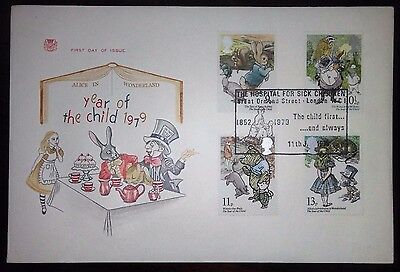 1979 Year of the Child First day cover.