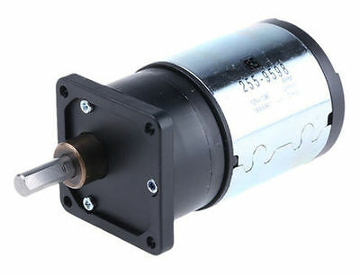 Medium duty 30:1 gear DCmotor,135rpm 12V - New in Box