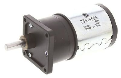 Medium duty 60:1 gear DC motor,68rpm 12V - New in Box