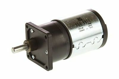 Medium duty 100:1 gear DCmotor,41rpm 12V - New in Box