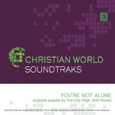 Owl City - You're not Alone - Accompaniment CD NEW