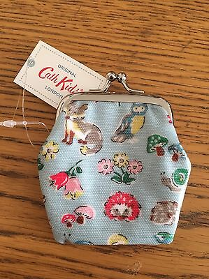 CATH KIDSTON Little Fruit MINI CLASP PURSE Girls white oilcloth coin purse NEW