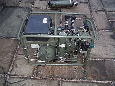 MOD Diving / Breathing Air 300 Bar Compressor with Online Air Purity Testing