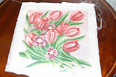 USSR Vintage Floral Design Embroidery Kit 1979