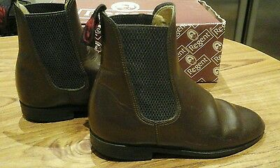Childs Regent Junior Steed Brown Leather Size 12 jodhpur boots