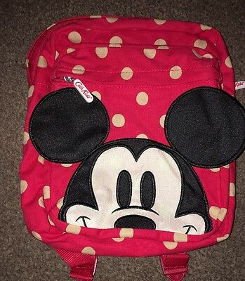Cath Kidston x Disney Button Spot Kids Medium Rucksack Mickey Mouse BNTW