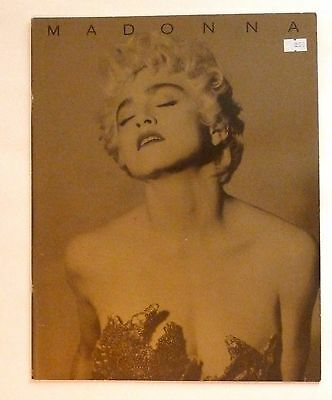 MADONNA 1987 Who's That Girl Tour Book & bonus Blond Ambition poster book!