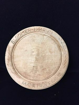 Circular Bread Board Carved Bloomer Holt Ltd Manchester 12