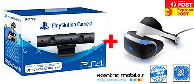 Sony PlayStation VR & Camera Bundle - AUS - BRAND NEW - Express AU Shipping