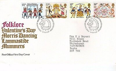 1981 Folklore - Bureau Hand Stamp Fdc From Collection 7C/10