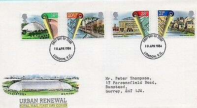 1984 Urban Renewal Fdc From Collection 7C/20