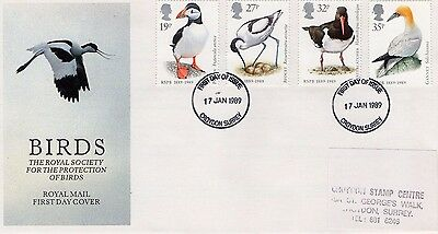 1989 Birds Fdc From Collection 7C/21