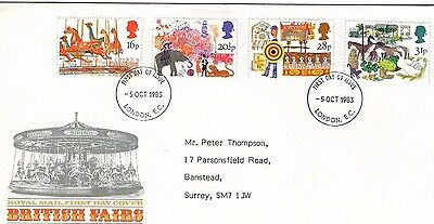 1983 British Fairs Fdc From Collection 7C/22