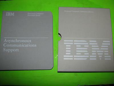 Vintage Ibm Asynchronous Communications Support Software Version 2.00 - 6024032
