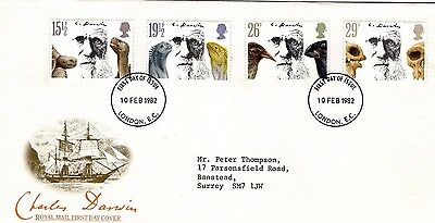 1982 Charles Darwin Fdc From Collection 7C/24