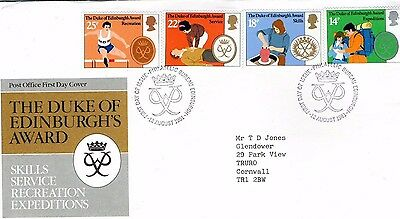 1981 Duke Of Edinburgh's Awards - Bureau H/stamp Fdc From Collection 7C/30