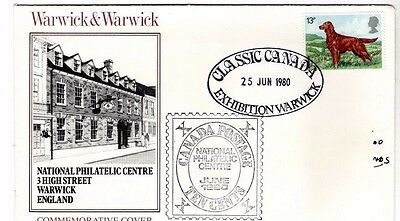 1980 Warwick & Warwick Classic Canada Fdc From Collection 2/13
