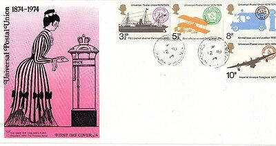 1974 Universal Postal Union Fdc From Collection 6/07