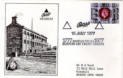 1977 The Bass Museum Burton On Trent Fdc From Collection 2/02