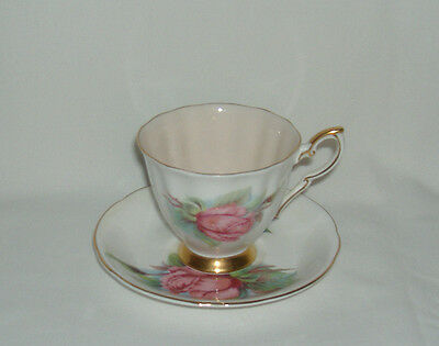 Paragon Harry Wheatcroft World Famous Roses Coffee Cup & Saucer - Rendezvous
