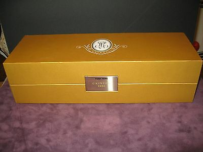2006 Cristal Champagne Louis Roederer  750ml Empty Bottle Display Box With Book