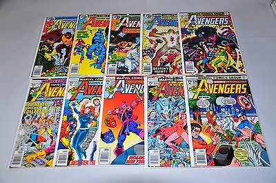 Avengers 170-199 nearly Complete Run 181 Bronze Age Lot Chicago Collection NICE