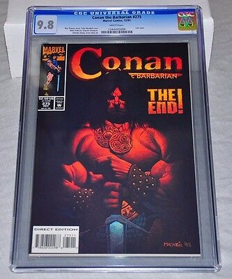 Conan The Barbarian 275 CGC 9.8 White Pages Last Issue