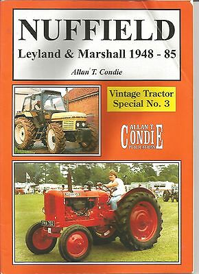 VINTAGE TRACTOR SPECIAL No 3.   NUFFIELD - LEYLAND & MARSHALL 1948 - 85.