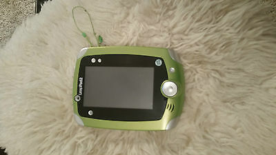 Green & White Leapfrog Leappad2 Tablet Console With Gel Case
