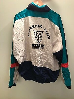 Vintage Retro Hipster 80s 90s Sports Jacket Size M