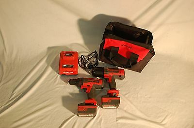 Snap-On Drill/Impact Drill set