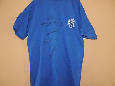 Signed 1970 Chelsea Shirt signed by 5 Proof  COA