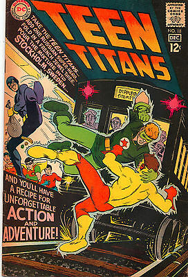 Teen Titans #18 - Kid Flash In Sweden Nick Cardy! - (Grade 6.5) 1968