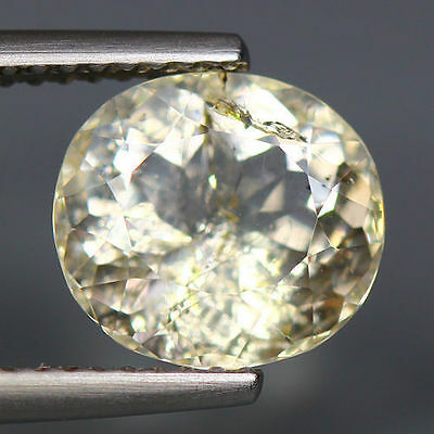 2.75 Cts_World Class Very Rare Gemstone_100 % Natural Yellow Scapolite_Brazil